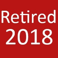 Retired For 2018
