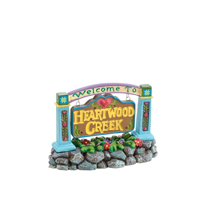 Welcome to Heartwood Creek Sign