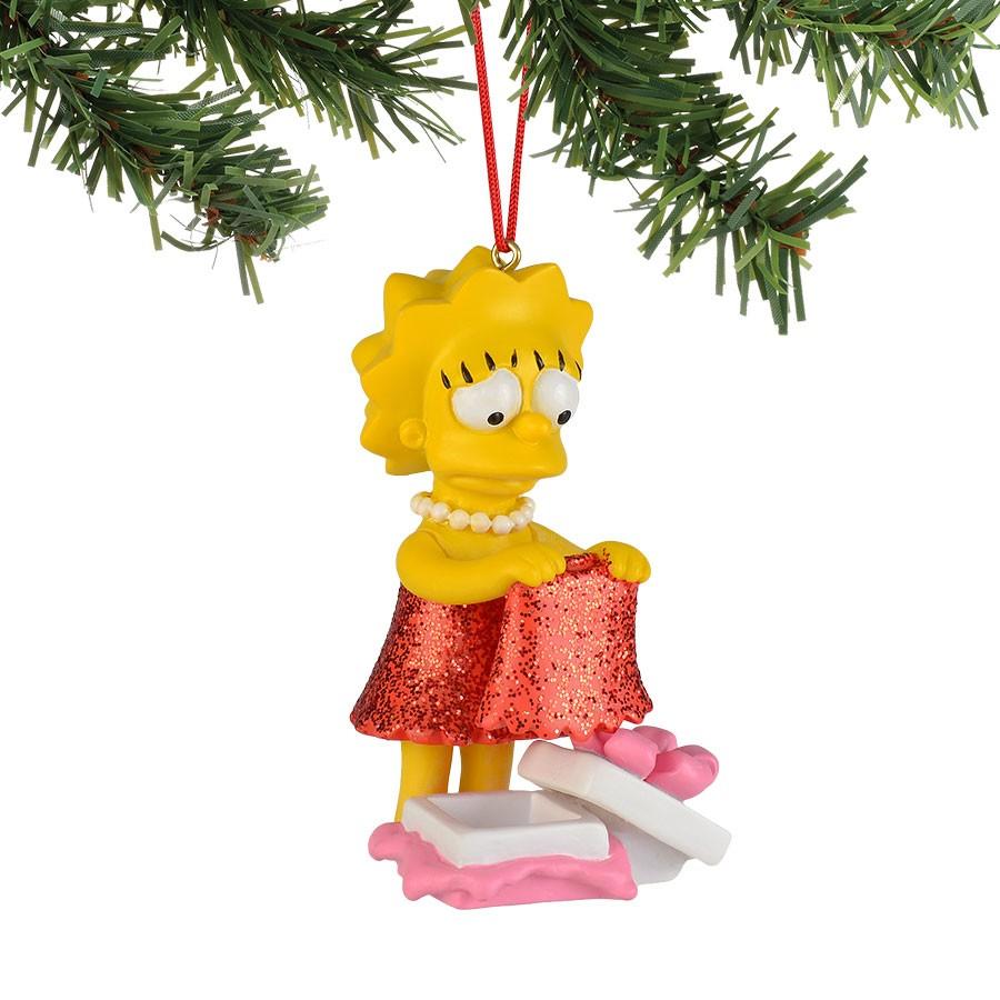 Lisa's New Dress Hanging Ornament