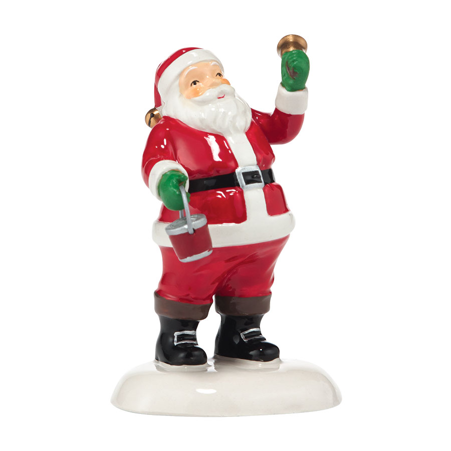 Bell Ringer Santa
