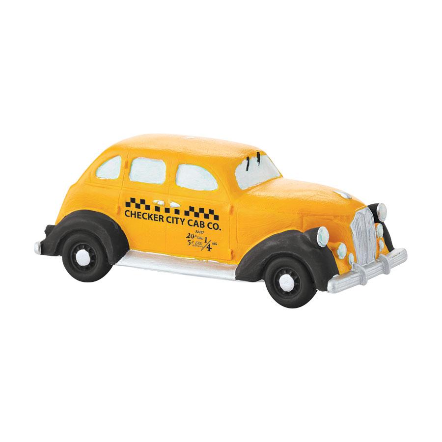 Checker City Cab