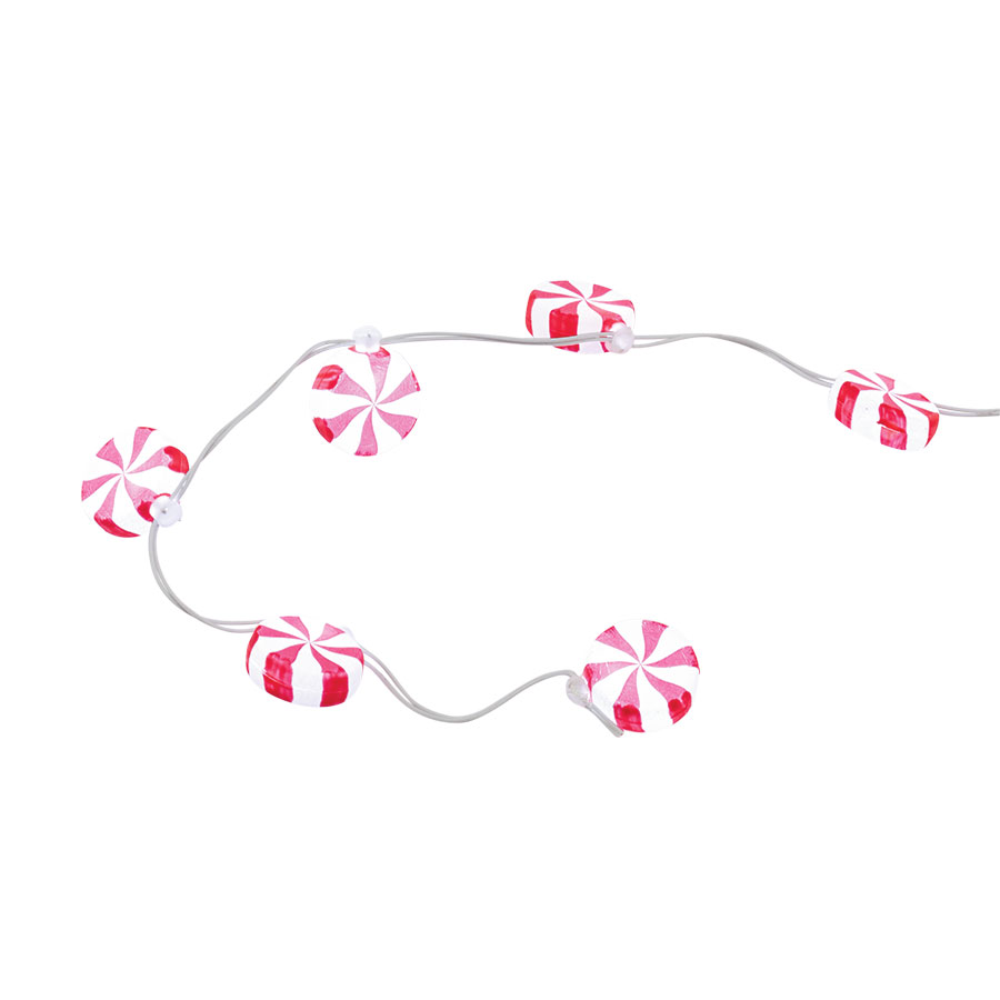 Peppermint Light String