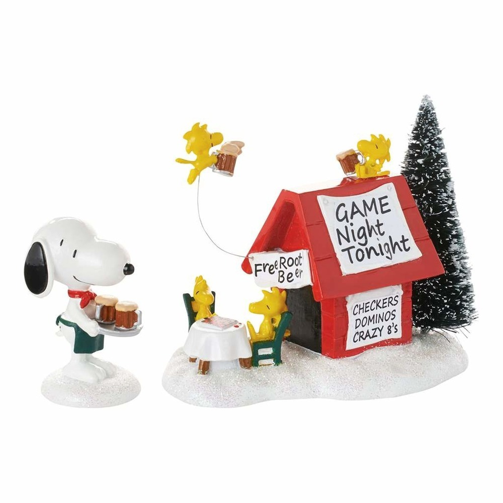 Snoopy's Game Night