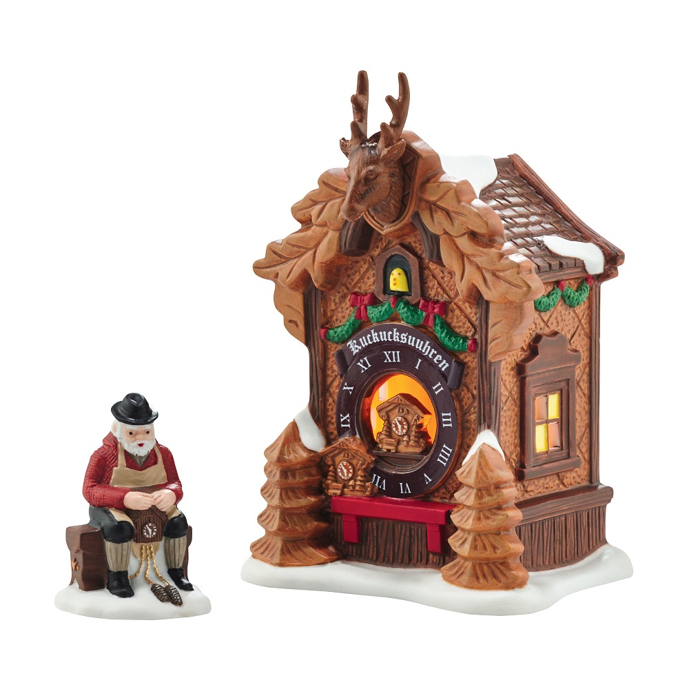 Christmas Market - Black Forest Clocks