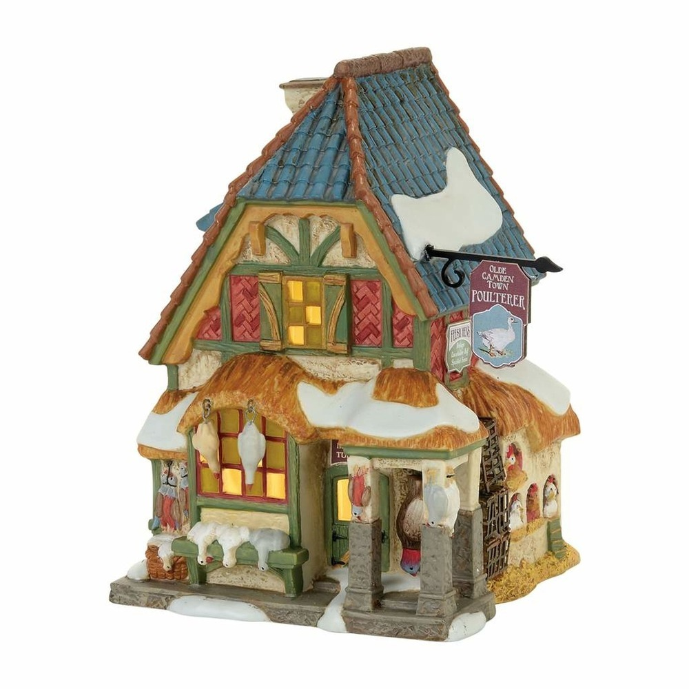 Christmas Carol Poulterer Shop Set