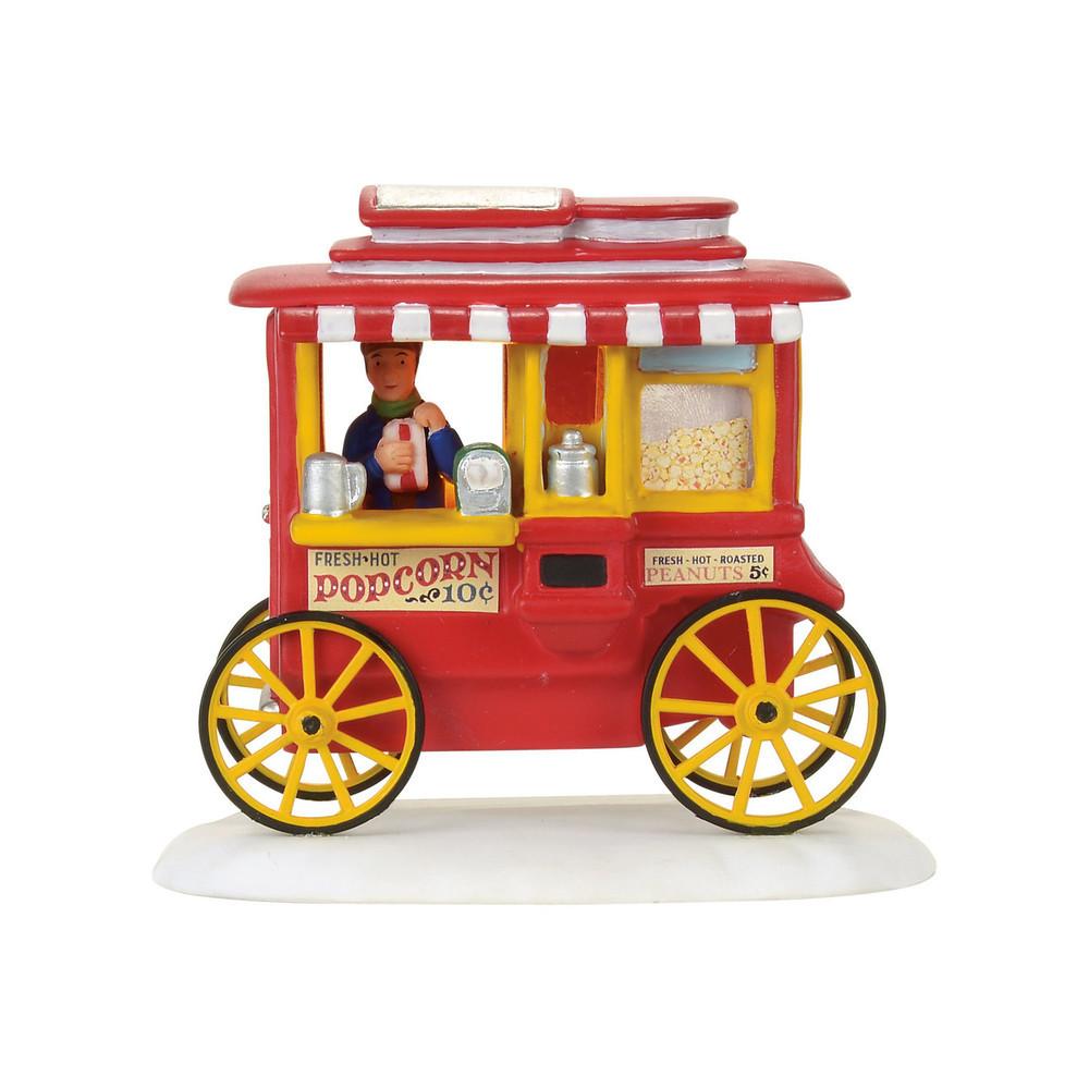 A Christmas Story Popcorn Wagon