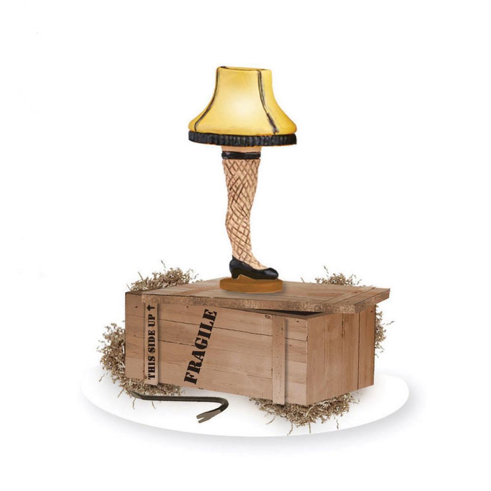 Lit Leg Lamp