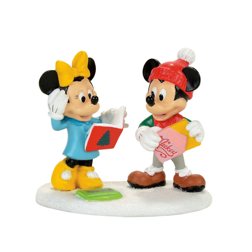 Mickey and Minnie Card Exchange