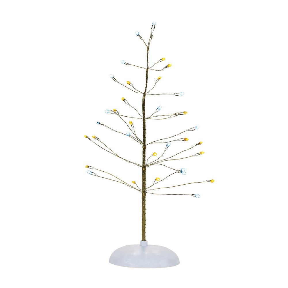 Silver And Gold Twinkle Brite Tree