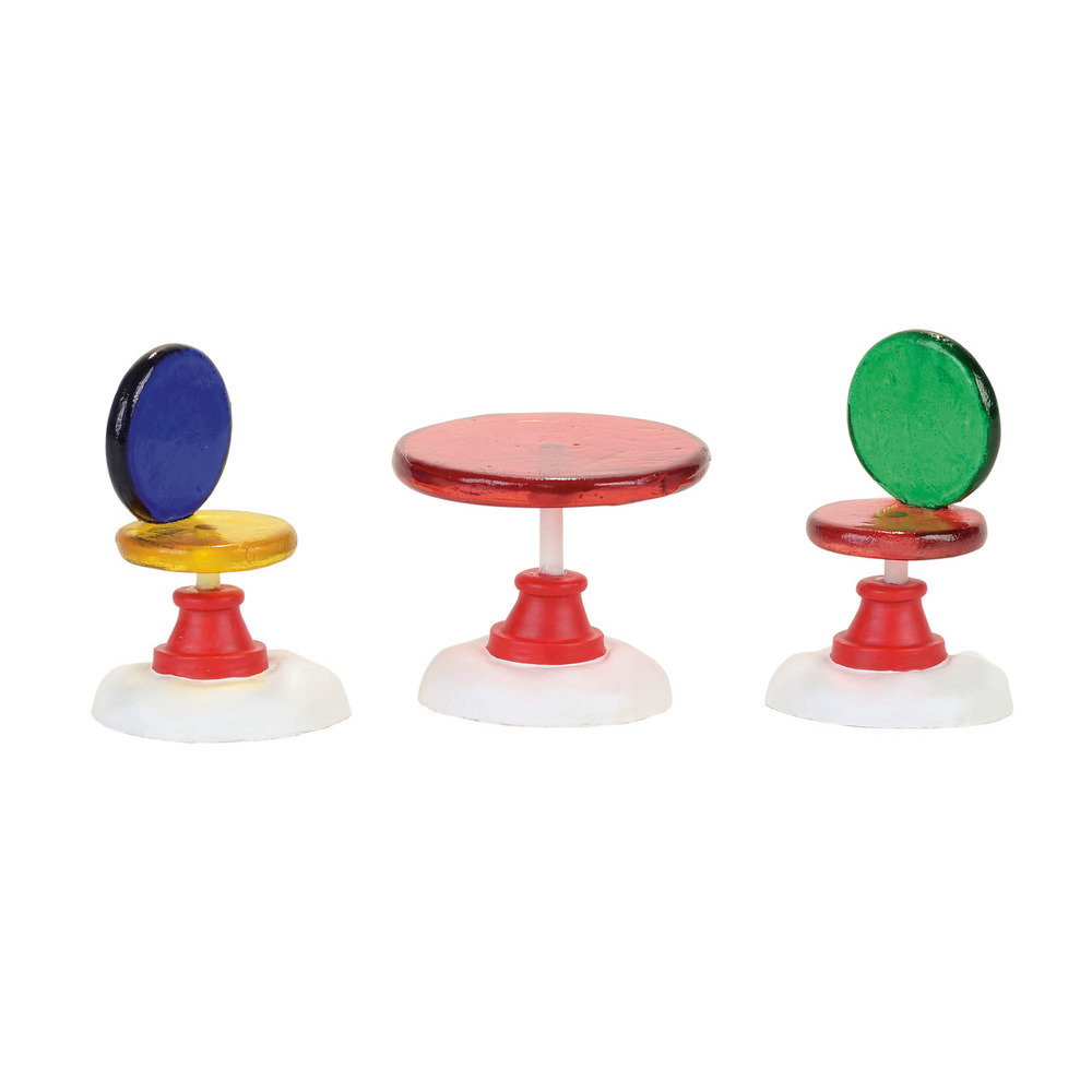 Candy Corner Table And Chairs