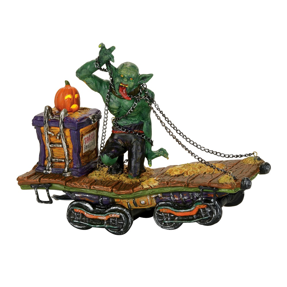 The Beast Haunted Rails Train Car