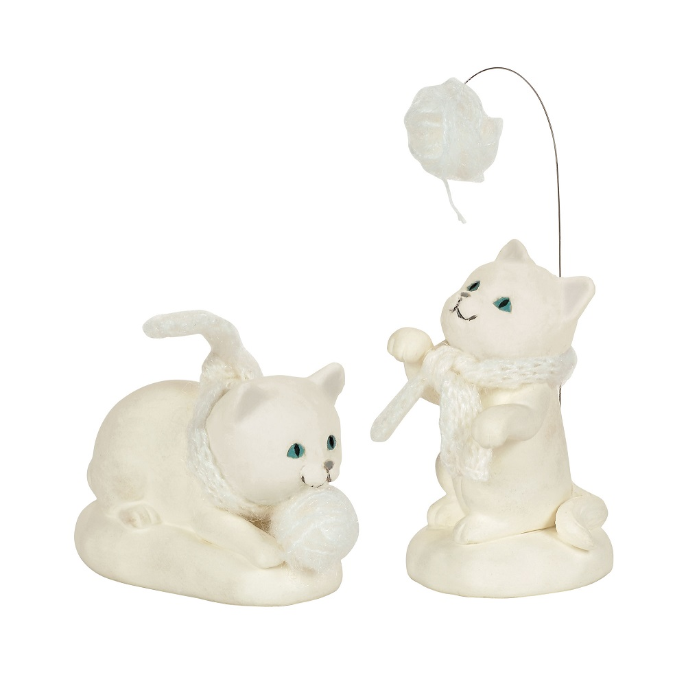 Department 56 Collectible Animasl Cats Set of 2, 2018