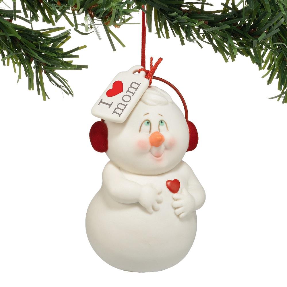 I Heart Mom Ornament