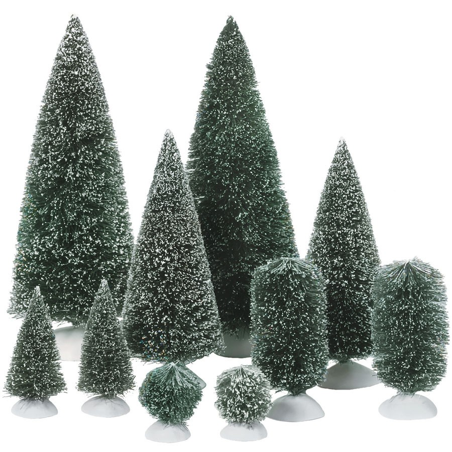 Bag O Frosted Topiaries - Small
