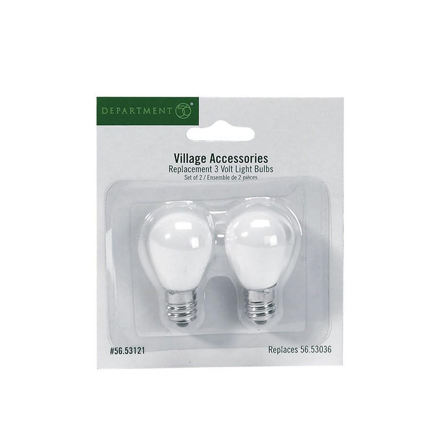 Replacement 3 Volt Light Bulbs