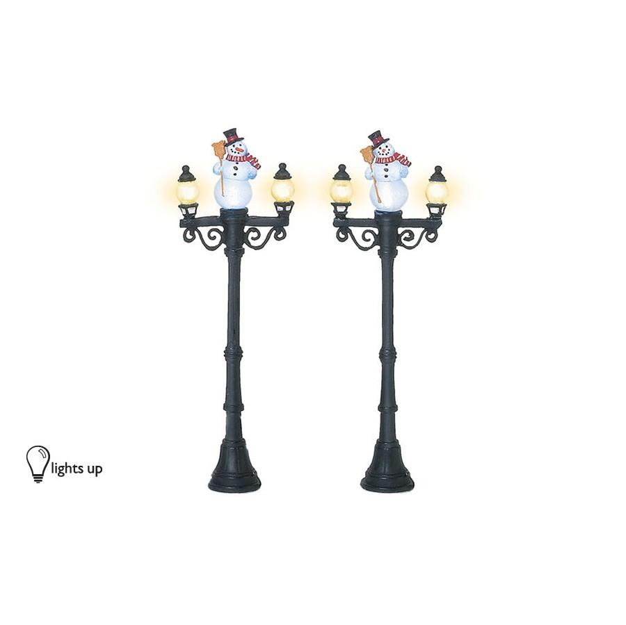 Snowman Street Lights
