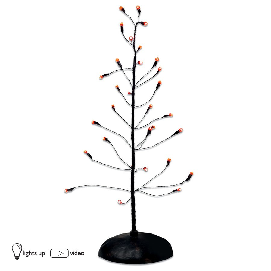 Halloween Orange Twinkle Brite Tree