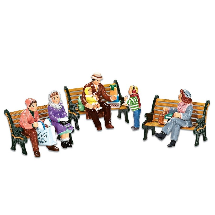 Sitting In The Village, Set of 6