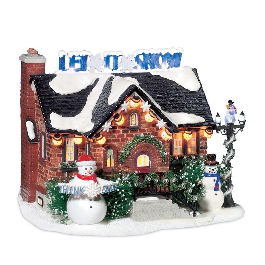 The Snowman House