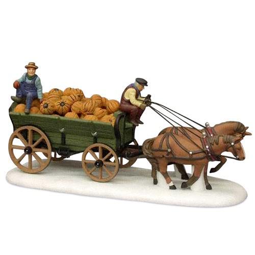 Harvest Pumpkin Wagon