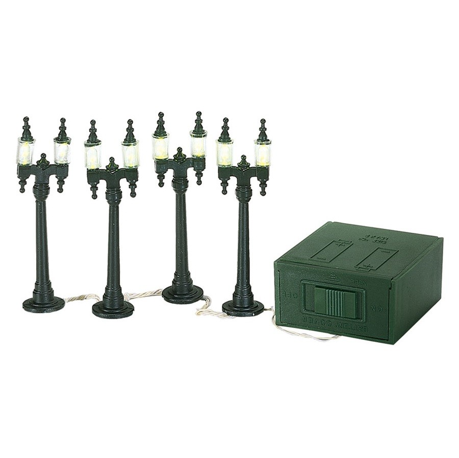 Double Street Lamps