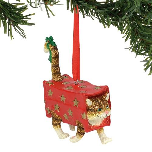 Walking Present Ornament