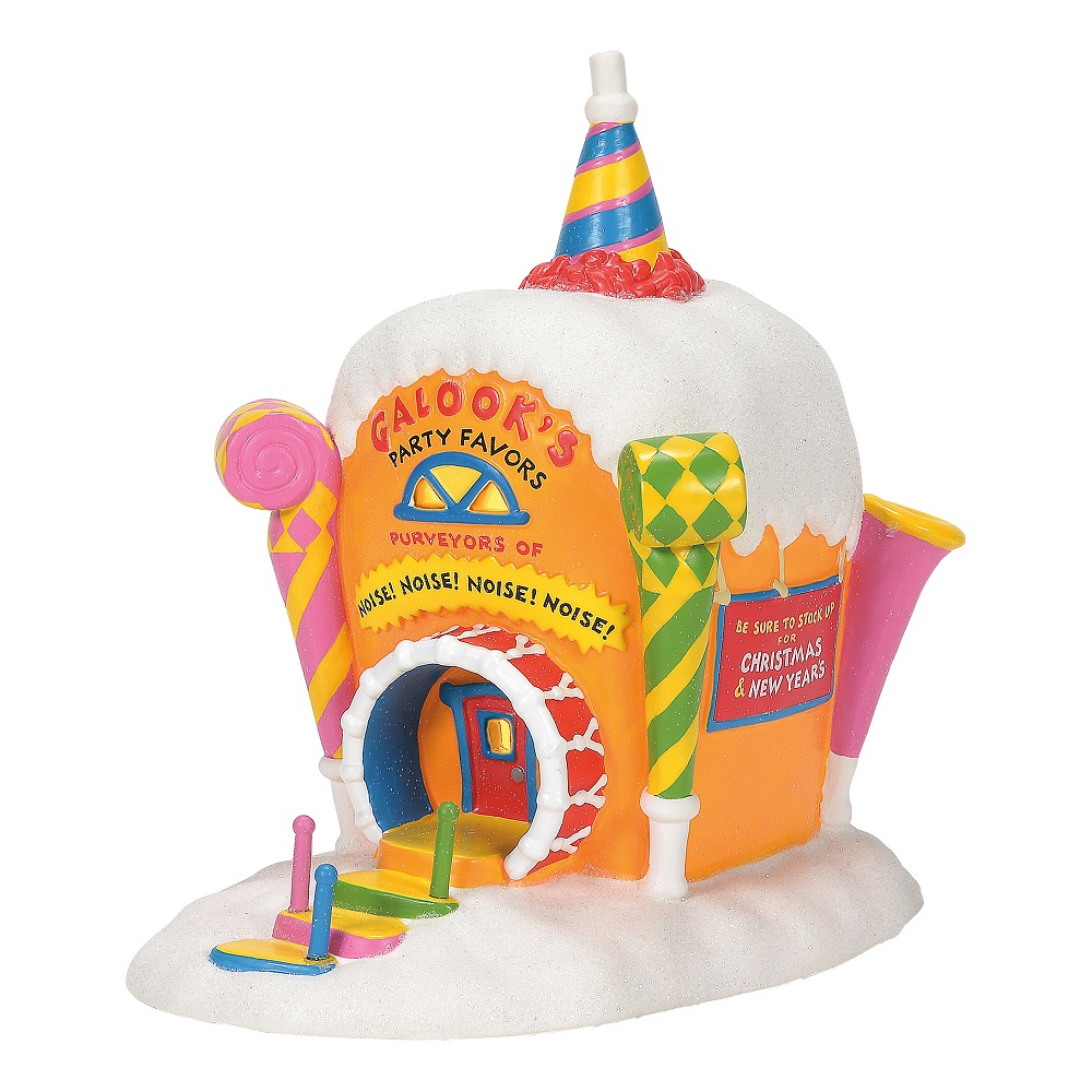 Who-Ville Galloks Party Favors