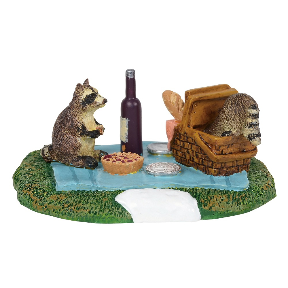 Woodland Racoon Picnic