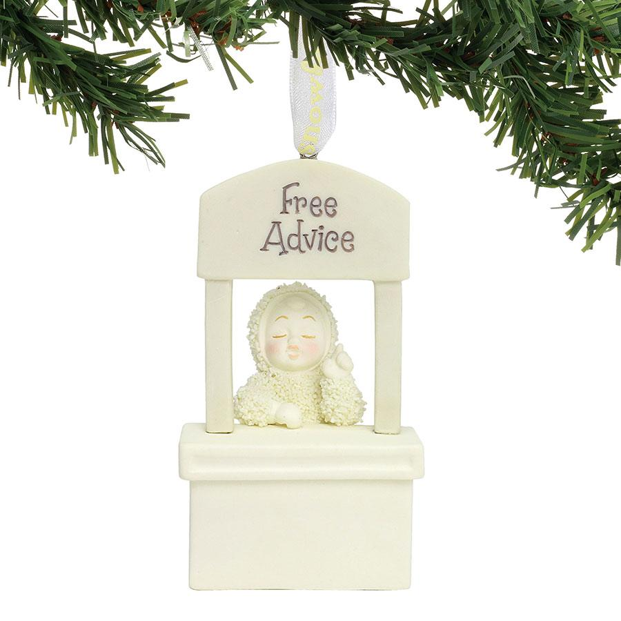 Free Advice Ornament