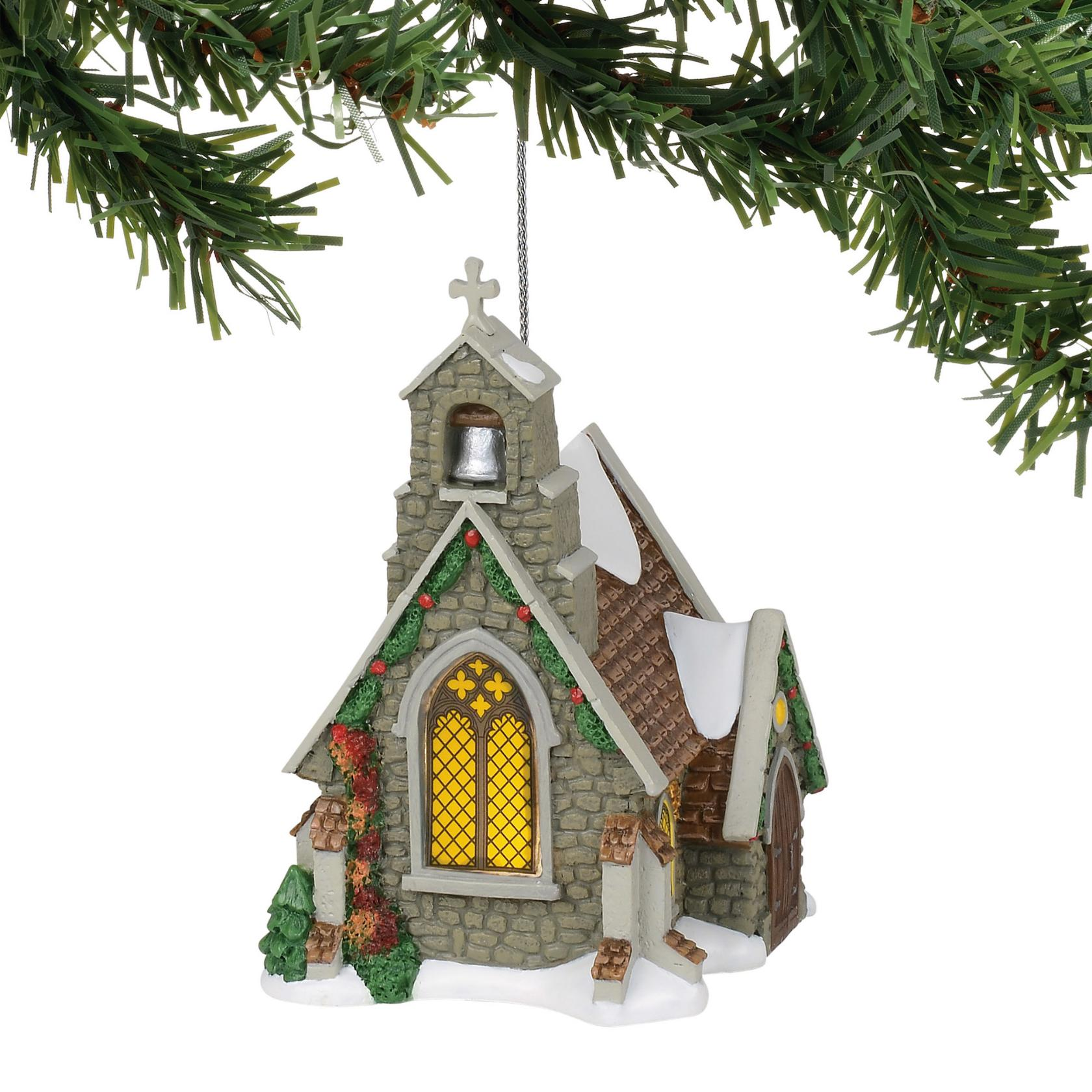 Isle of Wight Chapel Ornament