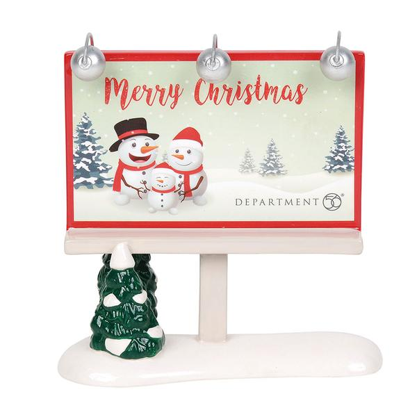 Merry Christmas Billboard