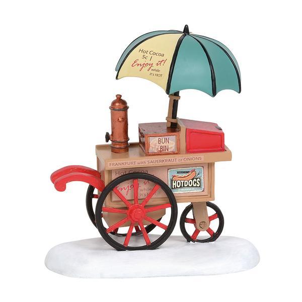 Classic Christmas Cocoa Cart