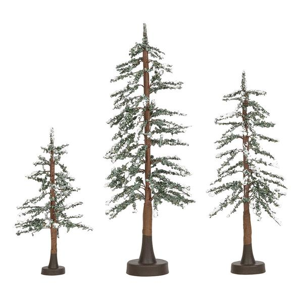 Snowy Lodge Pines