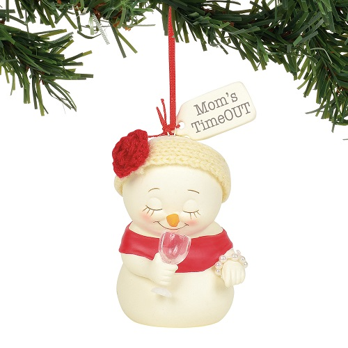 Mom's Time Out Ornament
