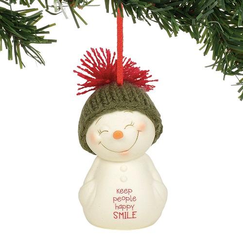 Keep People Happy Ornament