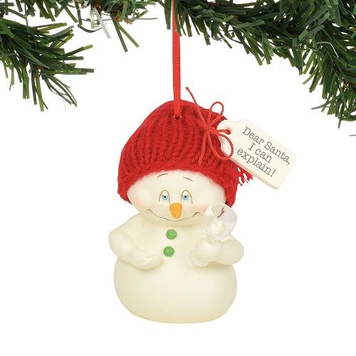 Dear Santa I Can Explain Ornament