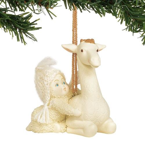 Peaceful Kingdom Giraffe Ornament