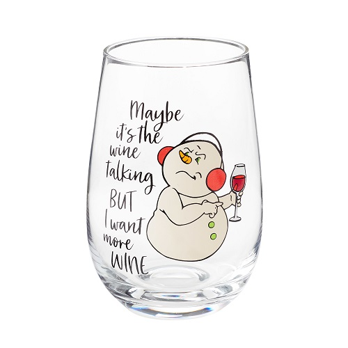 The Wine Talking Wine Glass