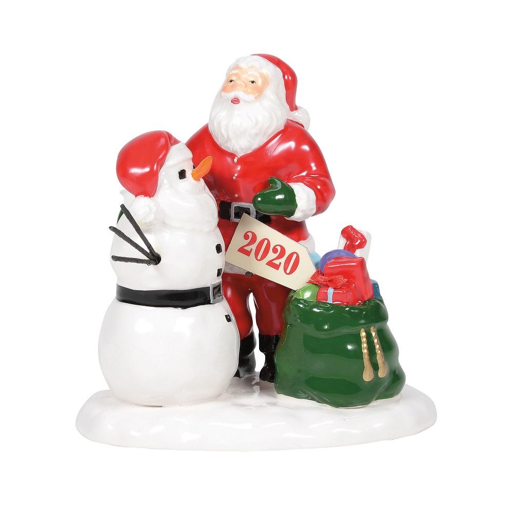 Santa Comes To Town 2020