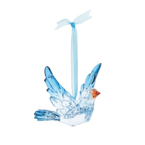 Acrylic Bluebird Ornament
