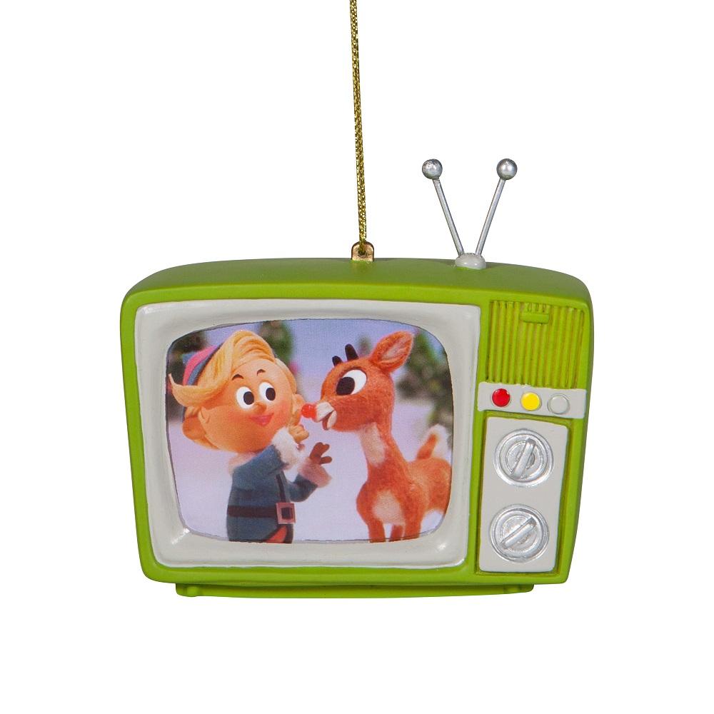 Rudolph Green TV Ornament