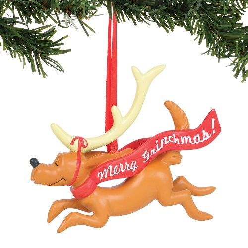 Max with Banner Ornament