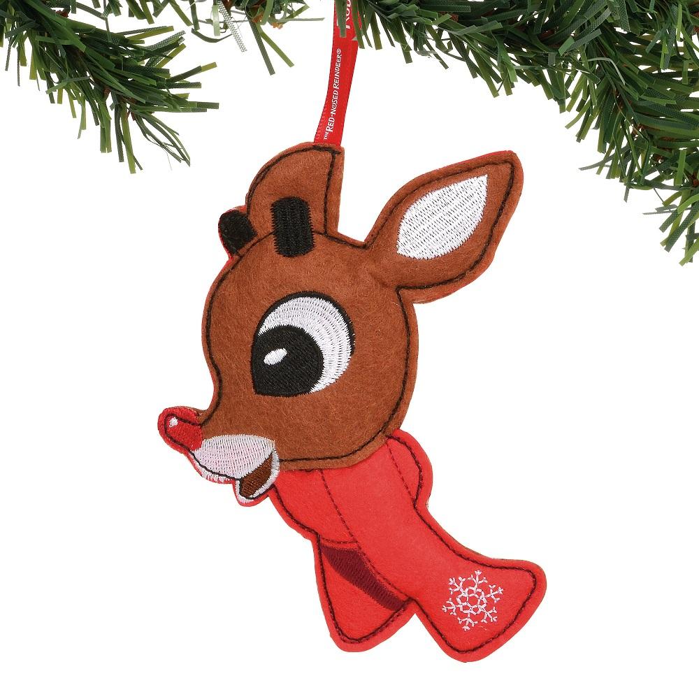 Rudolph Felt Ornament