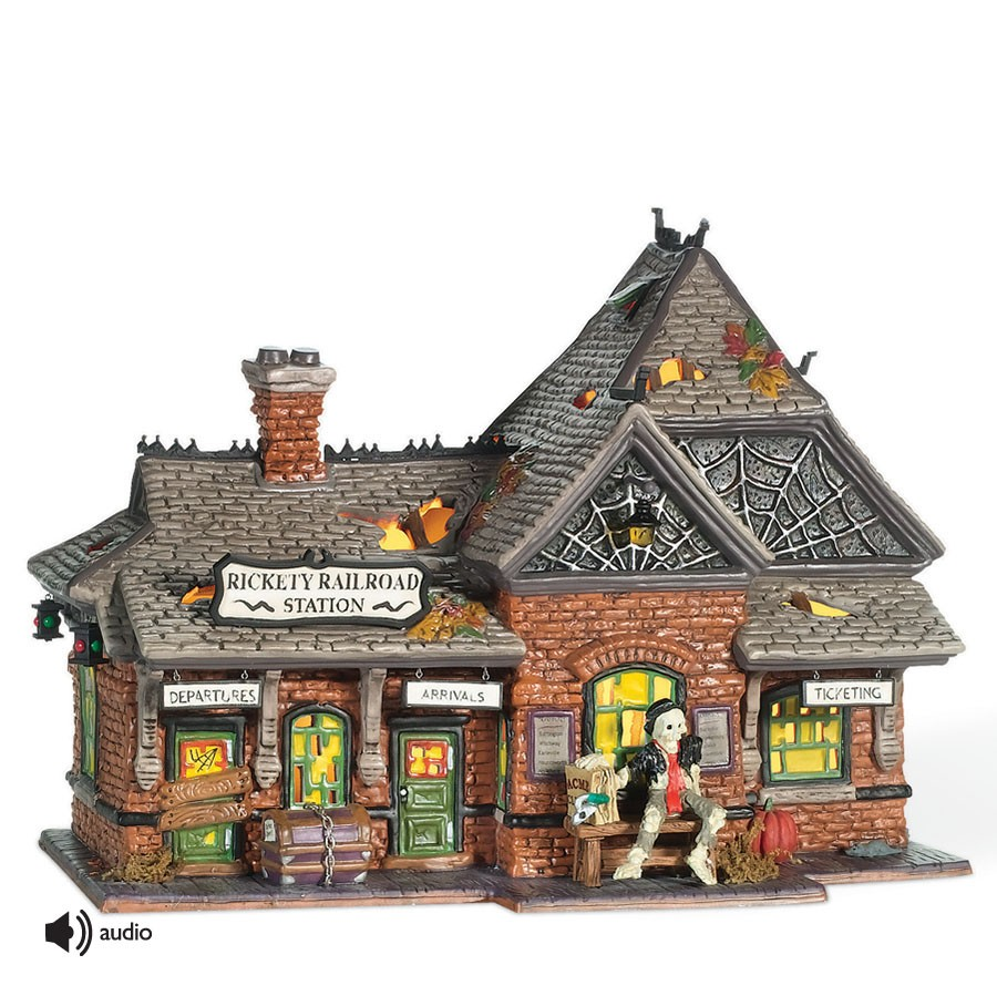 Rickety Railroad Station