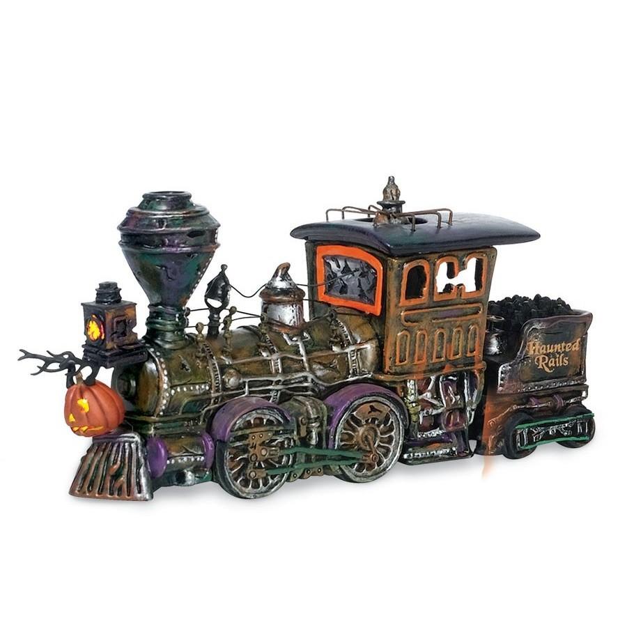 Haunted Rails Engine & Coal Car