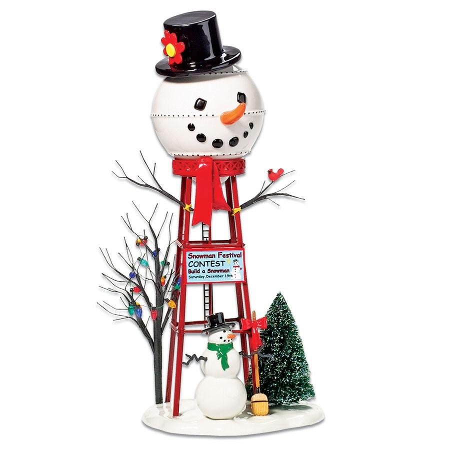 Snowman Watertower
