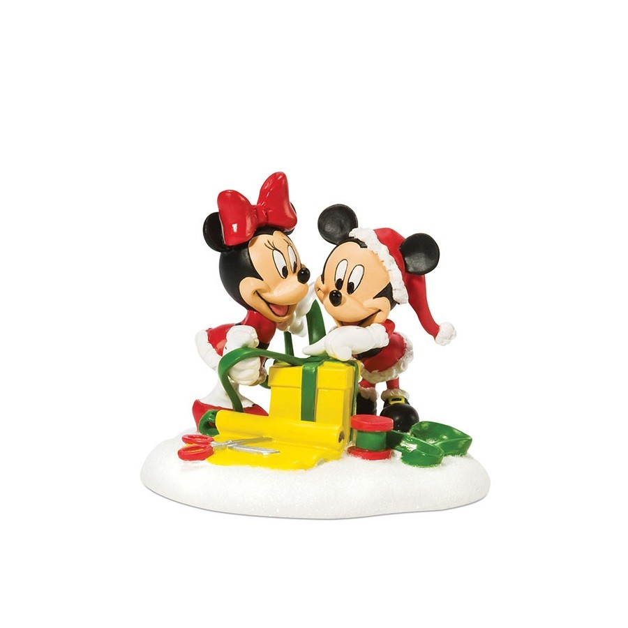 Mickey And Minnie Wrap The Gifts