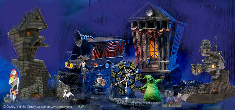 Nightmare Before Christmas Complete Set