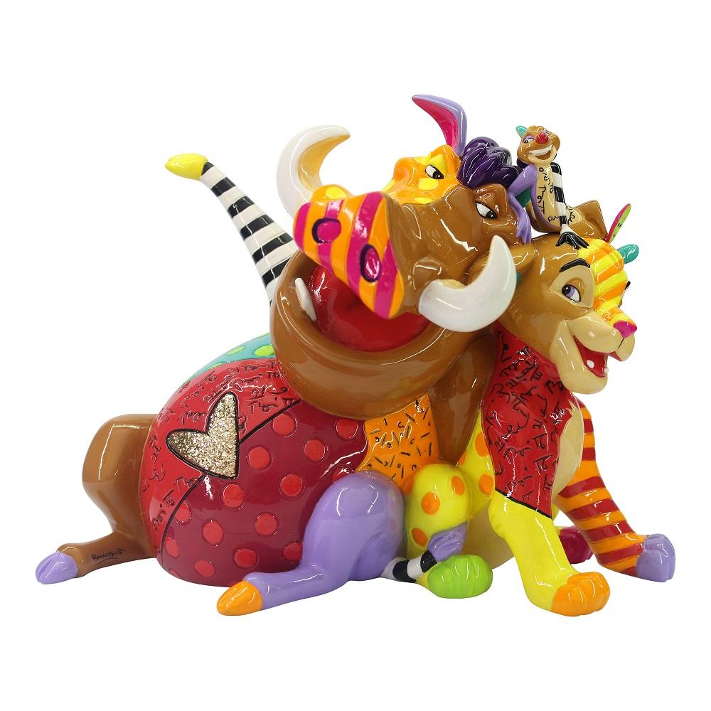 Simba, Timon and Pumba