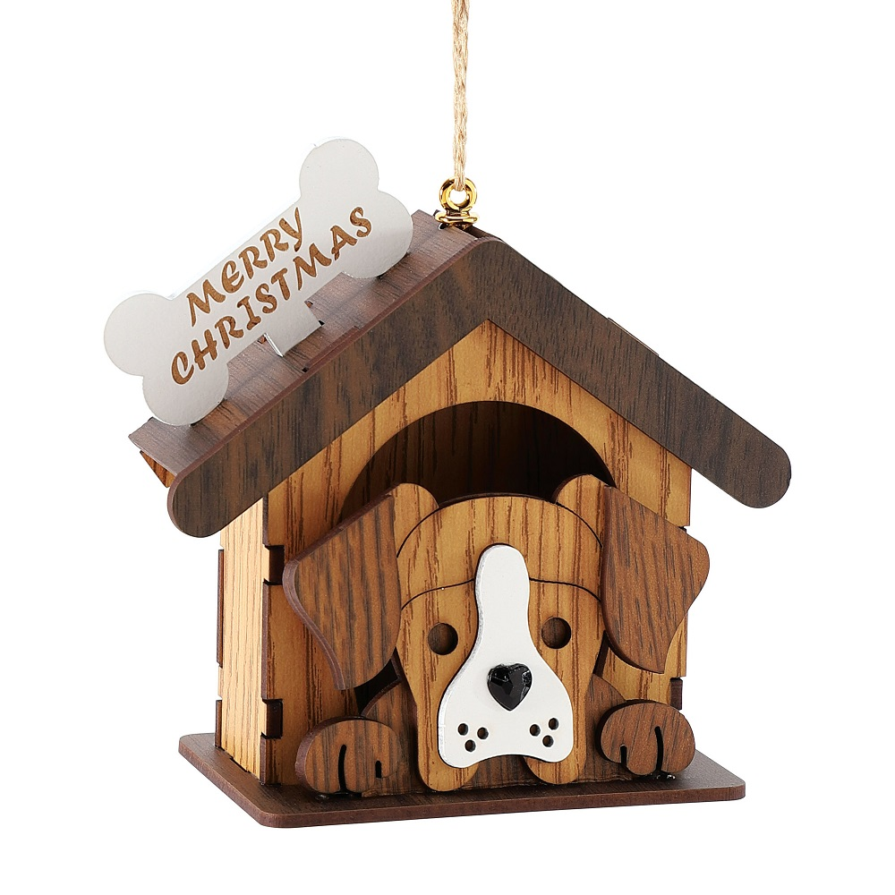Dog In House Ornament
